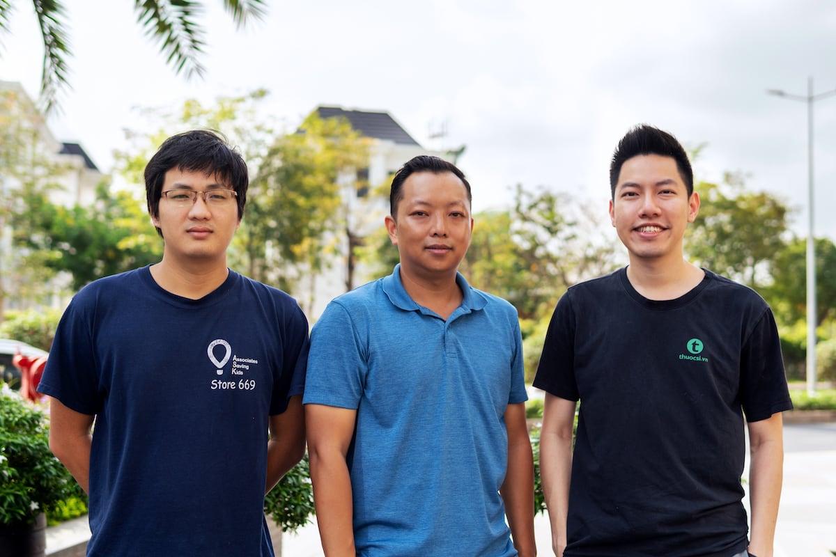 Hoàng Nguyễn, Peter Nguyễn và Vương Đình Vũ.