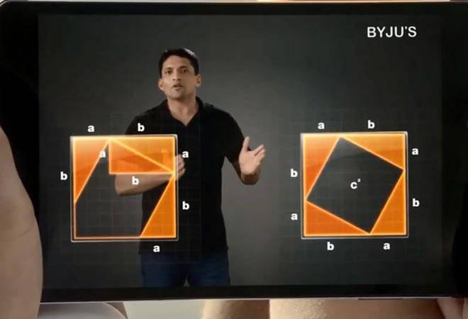 Hình ảnh trực quan trong một bài giảng toán cảu