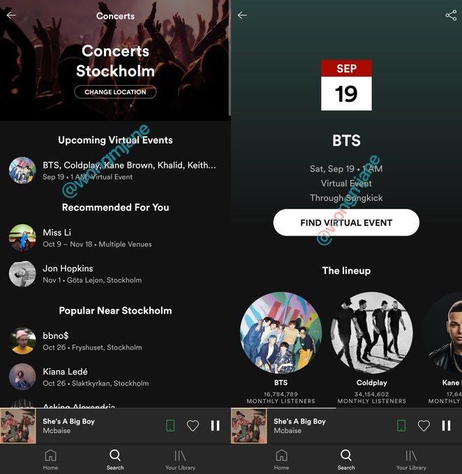 Hình ảnh được tiết lộ bởi kỹ sư của Spotify.