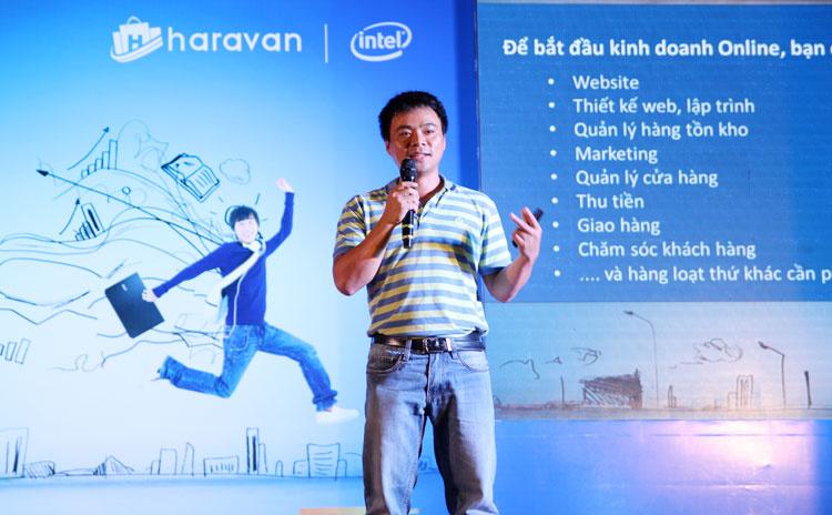 Ông Đinh Anh Huân, chủ tịch Ficus. Ảnh: TechInAsia.
