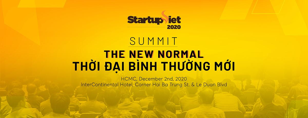 Gala Summit Startup Việt 2020 quy tụ các nhà đầu tư và cố vấn khởi nghiệp trong khu vực.
